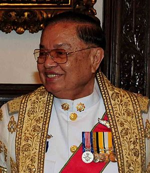 English: Chai Chidchob, speaker of the Thai pa...
