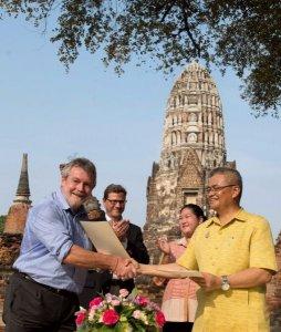 Ayutthaya: Deutscher Experte half bei Restaurierung von Tempelanlage