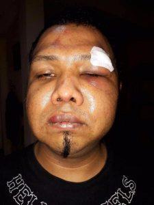 Australische Hells Angel attackieren thailändische Biker
