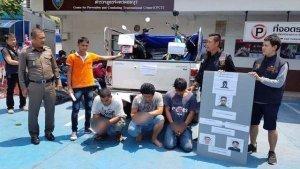 Pattaya: Motorrad-Diebesbande festgenommen