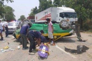 Kampheng Phet: Däne kam bei Unfall mit Taxi ums Leben
