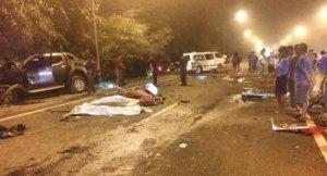 Trang: 4 Tote Rettungssanitäter bei Unfall mit Pickup  Trang: 4 Tote Rettungssanitäter bei Unfall mit Pickup