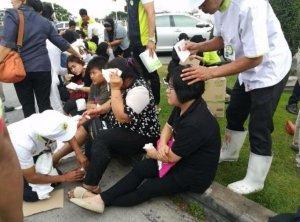 Pattani: Terror-Anschlag vor dem BIG-C Einkaufszentrum