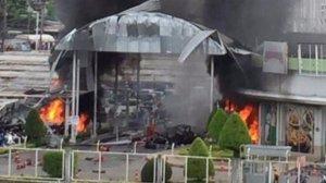 Pattani: Terror-Anschlag vor dem BIG-C Einkaufszentrum  Pattani: Terror-Anschlag vor dem BIG-C Einkaufszentrum