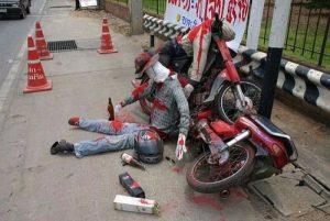 Motorrad-Unfälle - Experten für Drosselung auf max. 60 km/h