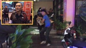 Pattaya: Polizeibeamter rettete Touristin aus brennendem Haus