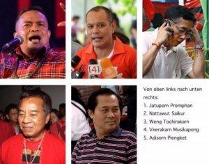 Rothemden werden wegen Stürmung des ASEAN-Gipfels vorgeladen