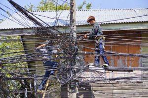 Pattaya: Thailand beginnt Stromkabel unterirdisch zu verlegen