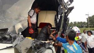 Pattaya: Wieder Busunfall - 20 chinesische Touristen verletzt