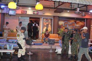 Armee überprüft landesweit Bars, Massage-Salons und Restaurants