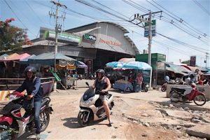Pattaya: unzumutbare Strassenbedingungen