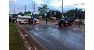 Unfall-Serie mit Minivans geht weiter - 6 Tote, 11 Verletzte  Unfall-Serie mit Minivans geht weiter - 6 Tote, 11 Verletzte
