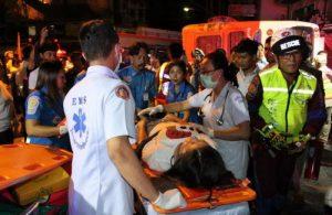 Phuket: wieder Bus-Unfall am Patong Hill - Vater und Sohn tot