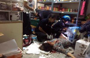 Pattaya: Russin fällt durch das Dach in einen 7/11 Shop