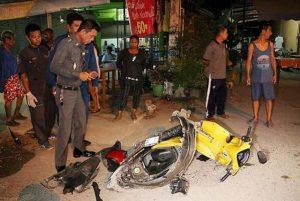 Sattahip: 76-jähriger Ausländer stirbt beim Unfall
