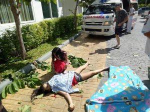 Pattaya: 17-jährige sprang vom 8. Stock in den Tod