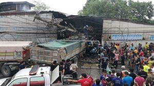 Saraburi: 6 Tote, 3 Verletzte bei Unfall mit LKW