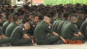 Sohn von Yingluck macht 10-wöchige Armee-Ausbildung