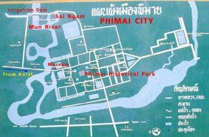 Korat: Phimai-Staudamm musste wegen Überfüllung geöffnet werden