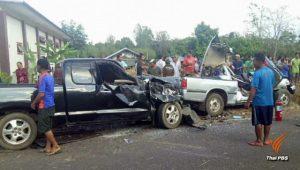 Sisaket: 4 Tote und 15 Verletzte bei Unfall mit Pickup