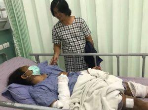 Nonthaburi: Thai schüttet Ex-Freundin Säure ins Gesicht