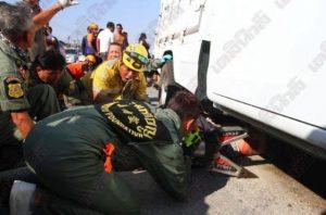 Pathum Thani: wieder Tote bei Pickup-Unfall