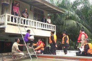 Prayuth erklärte Hochwasser-Projekt - Fertigstellung 2018