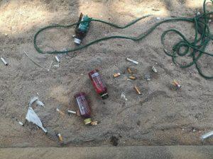 Jomtien: Strandbesucher ignorieren Rauchverbot