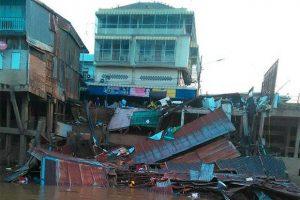 Nakhon Sawan: Restaurant zusammen gebrochen