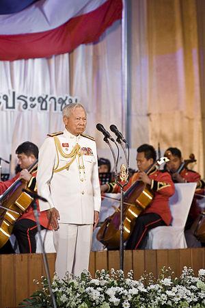 พลเอก เปรม ติณสูลานนท์ ประธานองคมนตรีและรัฐบุร...