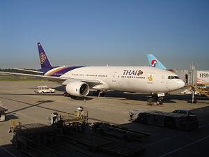 THAI Boeing 777-200 HS-TJB