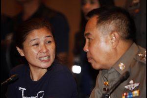 พล.ต.อ.สมยศ พุ่มพันธ์ม่วง ผู้บัญชาการตำรวจแห่งชาติ แถลงข่าวจับกุมแนวร่วม นปช.นางรินดา ปฤชาบุตร อายุ 45 ปีมือโพสต์เผยแพร่ข้อความ กล่าวหาว่า พล.อ.ประยุทธ์ จันทร์โอชา นายกรัฐมนตรี และภริยา ได้โอนเงินกว่า 1 หมื่นล้านบาทไปยังประเทศสิงคโปร์ โดยจับกุมได้ที่ จ.ปทุมธานี ที่ห้องประชุมศรียานนท์ ชั้น2 อาคาร1 สำนักงานตำรวจแห่งชาติ